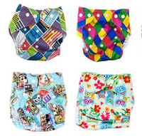 Wholesale 47designs Swim Diaper More Patterns Reusable Diaper Printing Diapers Nappy Cover For Baby Reusable Cloth Nappies