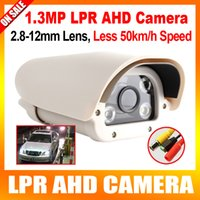 automatic definition - 960P High Definition Vehicle Analog AHD LPR Camera mm Varifocal Lens Automatic LEDs For Parking Entrance Toll Station