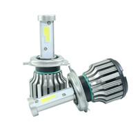 Wholesale car headlight H7 LED H8 H9 H11 HB3 HB4 H4 h3 H1 bulb auto front fog drl bulb automobile headlamp