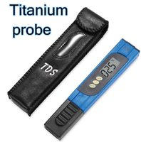 big aquarium - new arrival high quality TDS PH meter PPM Titanium probe big screen pocket pen digital portable tester for Aquarium Pool