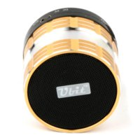 Wholesale Ubit Aluminum Bluetooth Handsfree Speaker With Microphone For iPhone Samsung FM Radio Mini Wileress Bluetooth MP3 Speakers D95