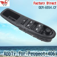 Wholesale Factory Direct CF Master Electric Auto Power Main Window Switch Apply for Peugeot