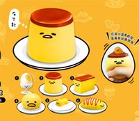 Wholesale Hot Sale roll Egg Toys Vomiting comb egg lazy time lazy egg Baozi Stuffed with Creamy Custard Egg in the egg vomiting