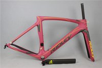 Wholesale 2016 Ridley NOAH SL T1000 UD full carbon racing road frame bicycle complete bike bicicleta frameset black pink red blue white green color