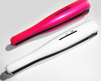 Wholesale USB Power Hair Straightener Cordless Hair Straightener Mini Rechargeable Straightener Travel Flat Iron Small Pocket Hair Curler