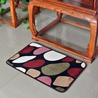 bathroom trends - Multi colored Non slip Kitchen Floor Mats Bathroom Door Mats Rug cm Lint free Trends