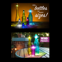 Cheap Hexagon Cork Shaped Rechargeable USB LED Night Light Super Bright Empty Wine bottle cork Led light for Party Patio Xmas L1407