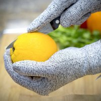 Wholesale Cut Resistant Gloves Level Protection Food Grade Certified Kitchen and Work Safety Protective Gloves Lightweight Breathable