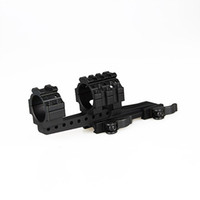 Wholesale Free Shippint Tactical mm Offset QD Mount Ring Mount For Outdoor Sport Hunting CS Wargame CL24