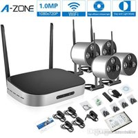 Wholesale A Zone Mini P HD CH Wireless Camera Kit Network IP Security Camera System CH WIFI NVR P CCTV IP Carema kit