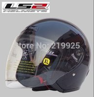 abs trade - rushed four drill special helmet motorcycle helmet LS2 foundry trade Genuine Abs Pc material safety helmet