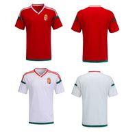 Wholesale Cheap Men S Gold - Euro cup 2016 Soccer Jersey Hungary Home Away kits Thai Quality AAA+ Away Green Soccer Shirts Men's Cheap Custom Football Jerseys