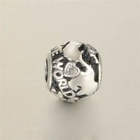animals around the world - 2016 Around The World Charms With Clear CZ Sterling Silver Beads Charms Fits Pandora Bracelet DIY Jewelry LW586