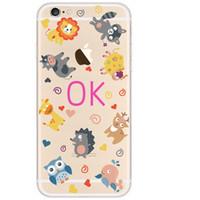 apple vanilla - Phone Case For iPhone s Plus Cover bag TPU Boll vanilla Meng Chong carnival Panda Bao Pink Enchantress Balloon Party Penguin Douding