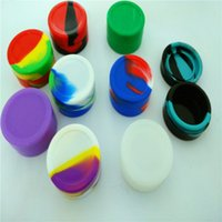 Wholesale High Quality Wax Container Silicone Box ml Round Shape Silicone Jar Wax oil Containers Silicone Non stick Container