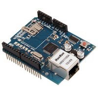 Wholesale Ethernet Shield W5100 For Arduino Main Board UNO ATMega Mega1280 T1581 W0 SUP5