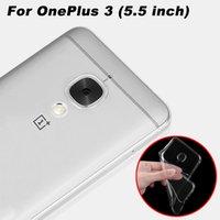 Wholesale OnePlus Copertura Della Cassa mm Ultrasottile Trasparente TPU Soft Cover Cassa del telefono Per OnePlus Uno Più Back Cover caso