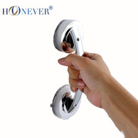 bathroom safety rail - Cheap Pull Push Silver Suction Cup Bathroom Door Handles Safety Grip Rail