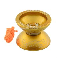 Wholesale 1 YoYo Ball Professional Bearing String Trick Toy for Kids Blue High Speed shipping