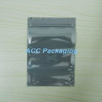 anti static bags for electronics - 9 cm Anti Static Shielding Bags ESD Antistatic Package Bag Zip Lock Anti Static Pack Bag for Electronics Accessories Storage