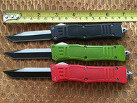 Wholesale Lowest Price Microtech Single Tanto Blade Fine Egde Scarab camping hunting knives collection knife New in original box