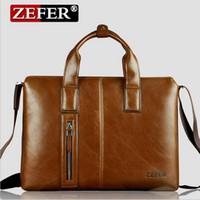 Wholesale 2016 New Arrival ZEFER man bag briefcase business fashion messenger bag shoulder bag factory AZ074