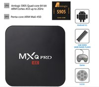 Wholesale PRO S905 K MXQ network set top box MXPROII Android quad core TV box configuration G G