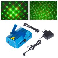 Wholesale DHL mini Red Green Bluetwinkling Laser Light Cristmas Decoration Laser luz Dj light Party Light Decoration Light