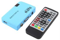 Wholesale Digital VGA AV Tuner DVB T LCD FreeView Receiver TV Box