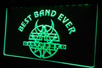 best disturbed - LS433 g Best Band Ever Disturbed Neon Light Sign jpg