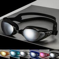 Wholesale 2016 New Quality Men s Women s Adult Swimming Frame Pool Sport Eyeglasses Waterproof Spectacles Eyewear Male Female Swim Goggles Glasses