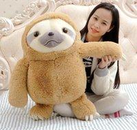 bear city - 1pc cm New Crazy Animal City Cute Sloth The Anime Movie Zootopia Sloth Flash Stuffed Animals Cute Doll For Girl