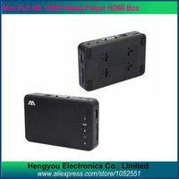 Wholesale HDMI Media Player P Full Hd Media Player NEW High Quality D Media Player HDMI VGA AV Optical MKV H SD