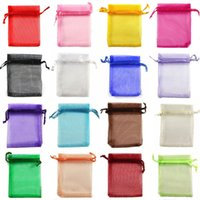 chinese christmas lights - 2016 hot sale new arrive Colours X12cm Premium ORGANZA Wedding Favour GIFT BAGS Jewellery Pouches