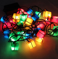 Wholesale new year Latest LED christmas decoration Light g christmas outdoor candy decoration supplies String lights natal