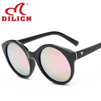 Wholesale 2016 new design sunglasses oval frame sun glasses lady HD sunglasses full sun eyeglasses high quality dilicn brand