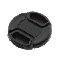 Wholesale 52mm Front Lens Hood Cap Cover Center Pinch Snap on with String Cord For All Canon Camera Lens Filter