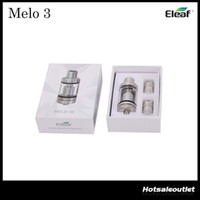 Wholesale Authentic Eleaf Melo Atomizer ml and Mini Melo Tank ml Fit iStick Pico Mod Melo3 Melo3 Mini Atomizer