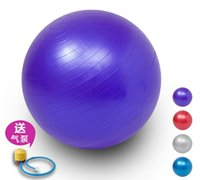 Wholesale International Standard cm Gym Ball Fitness Pilates Aerobics Yoga Ball Slimming Exercise Ball with Free Pump