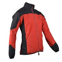 Wholesale Cycling Jackets ROCKBROS Jacket Cycling Wind Coat bike jacket motorcycle bike clothing cycle Red Black New