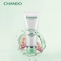 Wholesale CHANDO water embellish wet wash facial cream Cleanser female Deeply clean is not tight