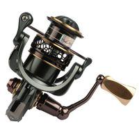 Wholesale Trulinaya New BB Spinning Fishing Reel Double Spool Ratio JAGUAR Fishing Tackles