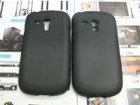 Cheap TPU Silicone Rubber Soft Case For Samsung I8190 Galaxy S III mini   S3 MINI I8190 Back Skin Cover Cell Phone Protective Bag
