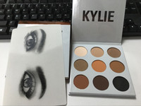 Wholesale 2016 new kylie Kyshadow pressed powder eye shadow palette the Bronze Palette Kyshadow Kit Kylie Cosmetic high DHL free discount price