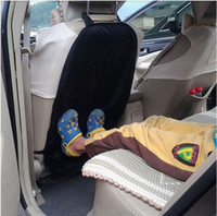 Wholesale 100pcs Arrival High Quanlity Car Auto Care Seat Back Protector Case Cover For Children Kick Mat Mud Clean ZA0310