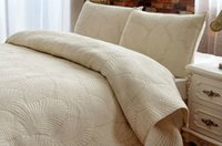air condition comforter - New Manual quilting cotton bedding set bed cover air conditioning bedspread beige Patchwork quilt queen ropa de cama