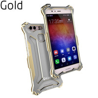 aviation accessories - R JUST armor King Case Smartphone Cover For Huawei P9 luxury ultralight aviation aluminum alloy shell mobile phone Cell Phone Accessories