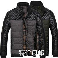 argyle print - 2016mens winter jacket men s hooded wadded coat winter thickening outerwear male slim casual cotton padded outwear shipping fee