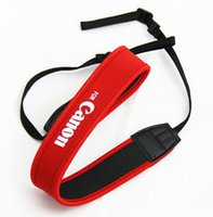 Wholesale Red Neoprene Shoulder Neck Belt Straps High Quality for Canon Camera EOS D D D D D D D D DSLR