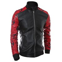 auto stores online - Fall Navy Style Mens Leather Jackets China Online Store Branding Clothes For Man Autos Biker Jacket Coats New Coats S1903